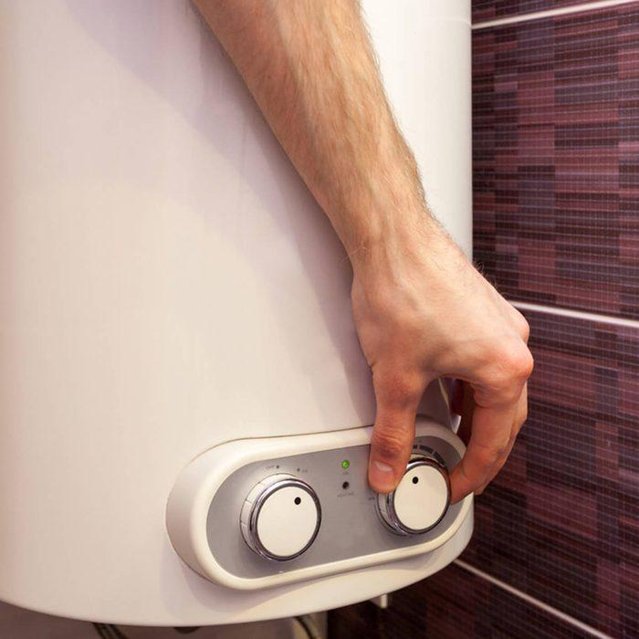 Flush, Insulate Hot Water Tank