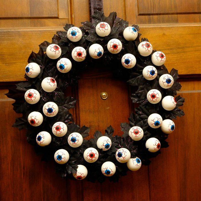 Halloween Eyeball Wreath