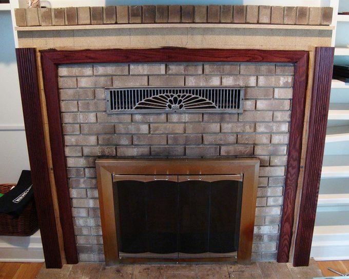 reader fireplace progress