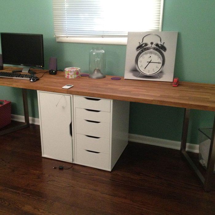 IKEA Office Desk Hack