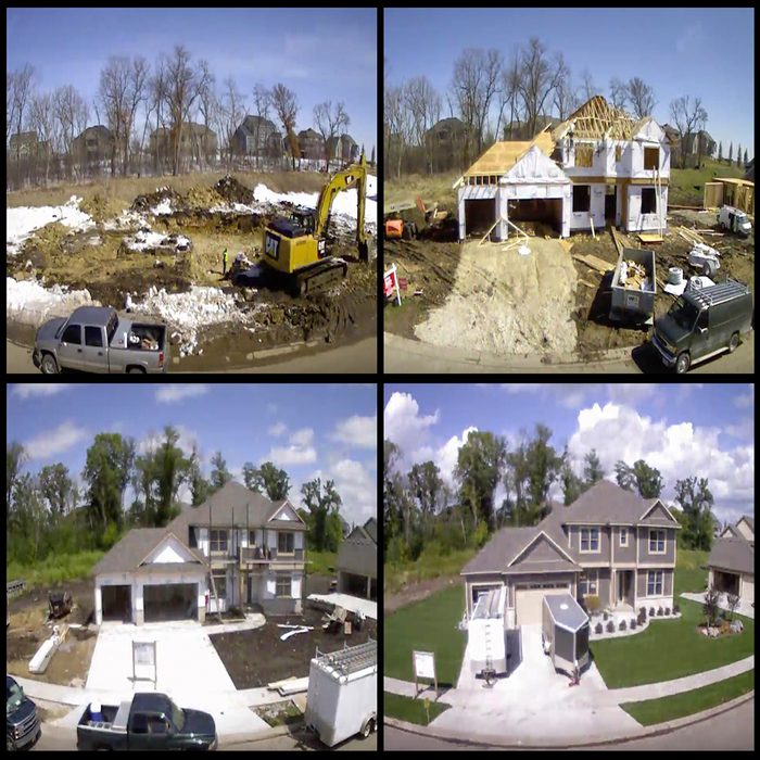 The Construction Of A Home Shown Through Time Lapse Photography | Construction Pro Tips