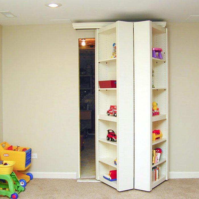 screet-and-hidden-room-1200x1200 hidden bookshelf room unfinished basement