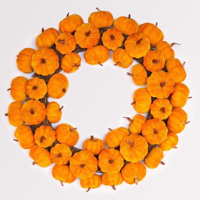 shutterstock_477615928_03 faux pumpkin fall wreath