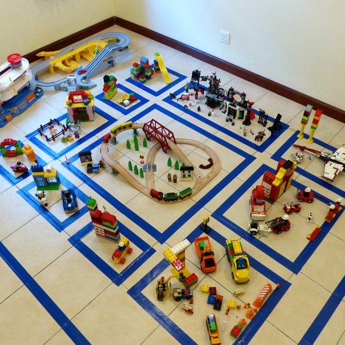 LEGO Floor City