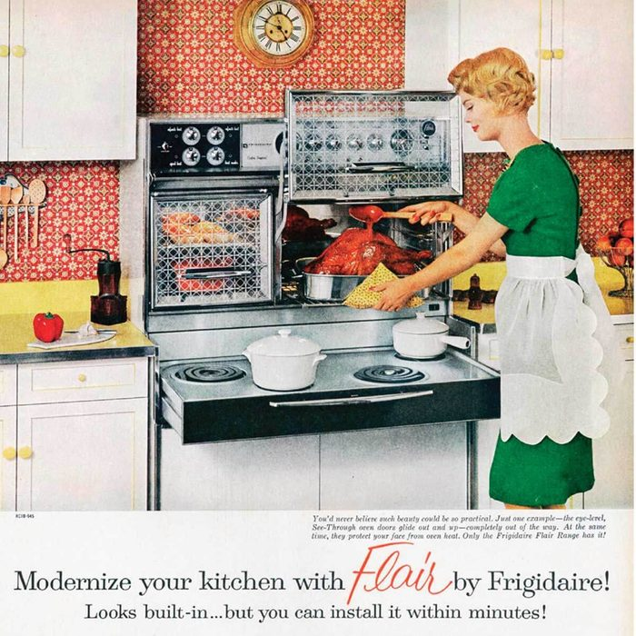 New flair spawned bewitching kitchens
