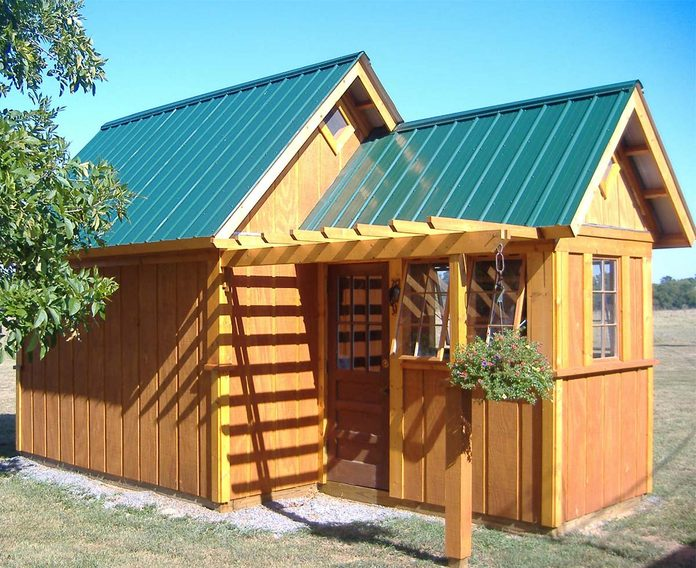 shed built by reader