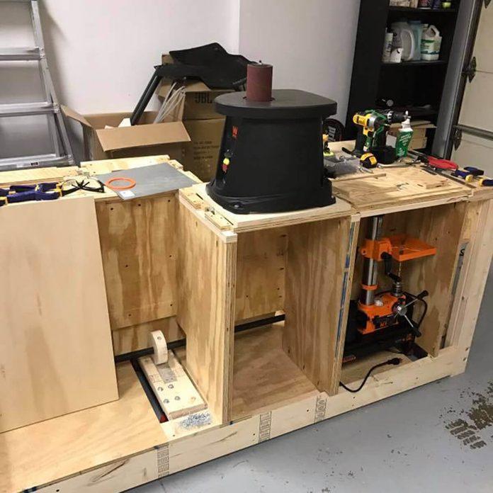 workbench tool storage