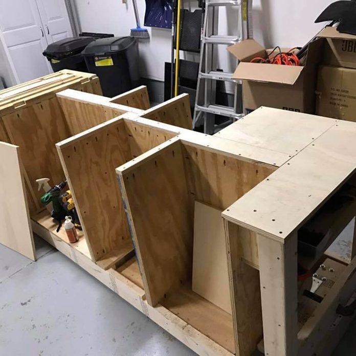 workbench assembly