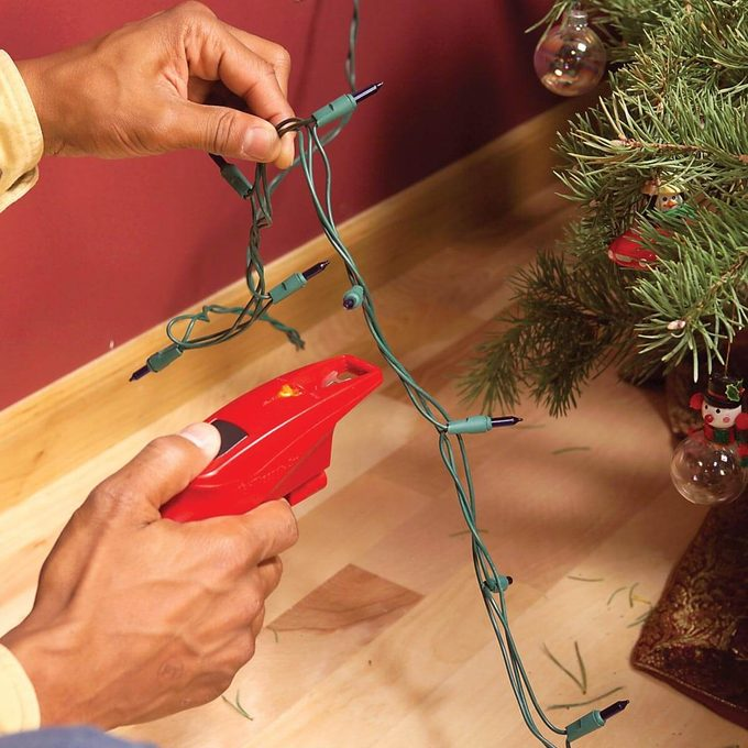 Testing Holiday Lights