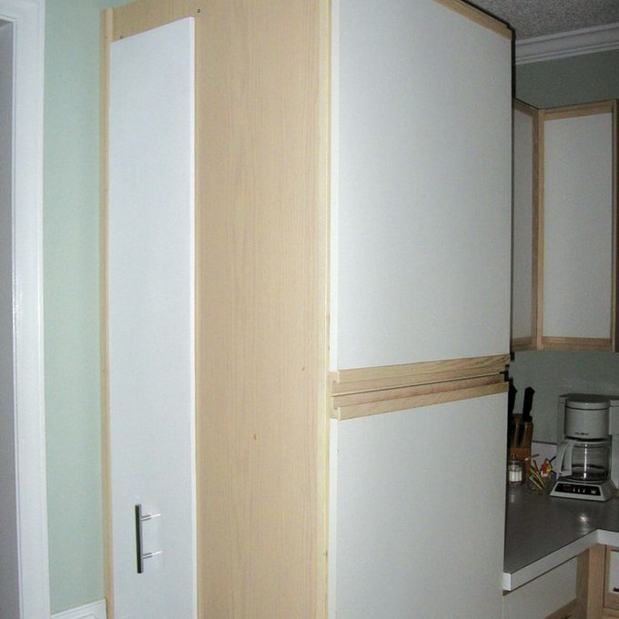 kitchen rollout for more storage