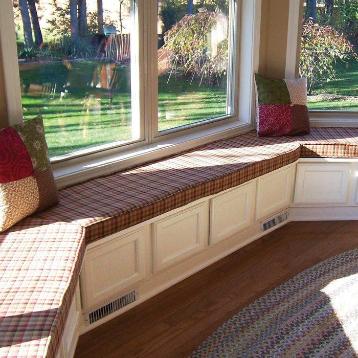 DIY Window Seating and Storage