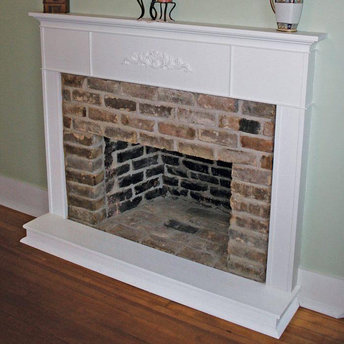Wall Teardown Hidden Fireplace