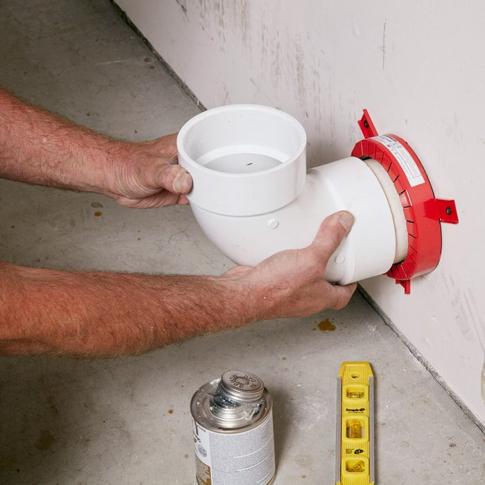 Install fire-stop collars in garages