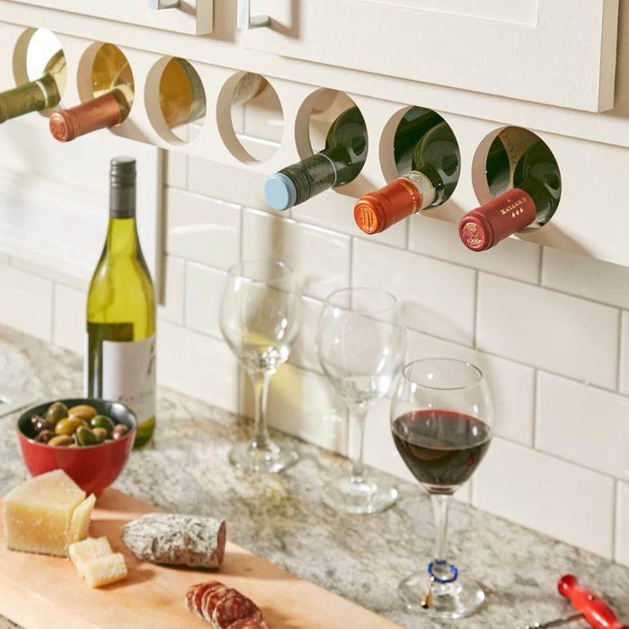 Under-Cabinet Wine Rack