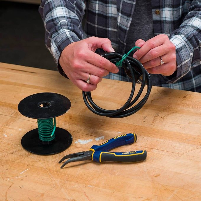 Electrical Wire to Wrangle Cords