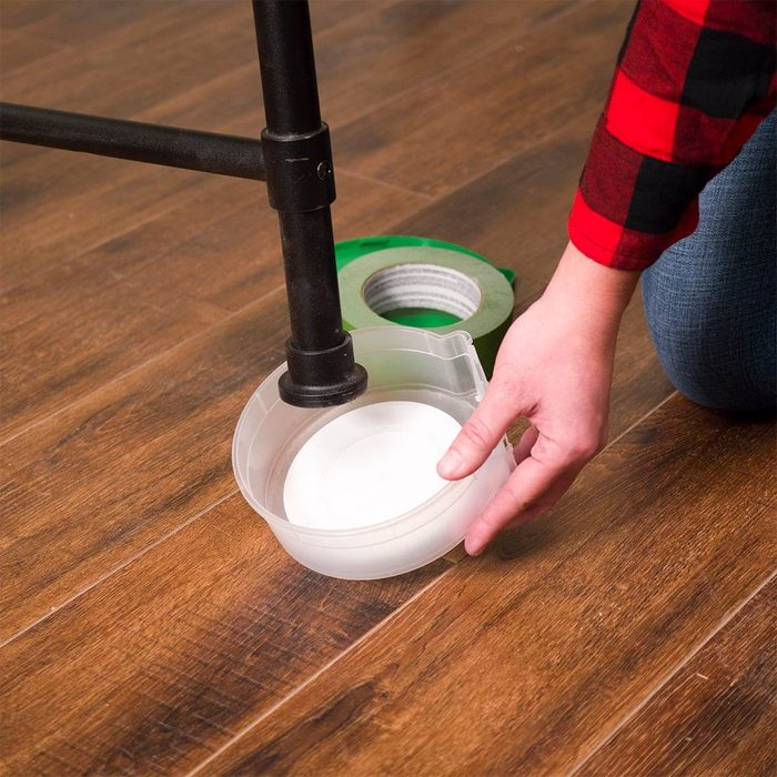 Tape Containers for Furniture Glides