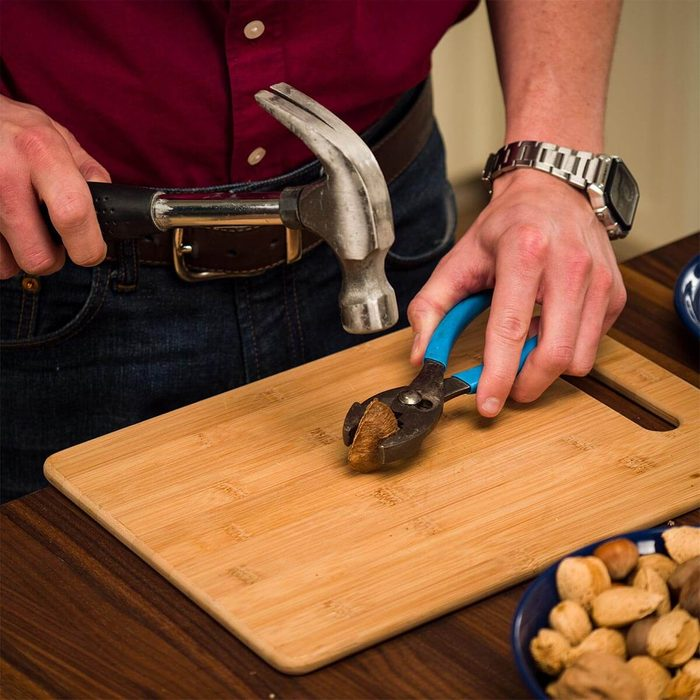Crack Nuts with Hand Tools