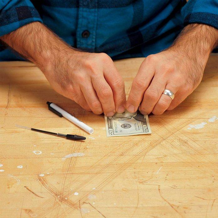 secret pen cash stash