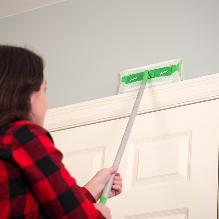 Swiffer Sweeper for dusting walls