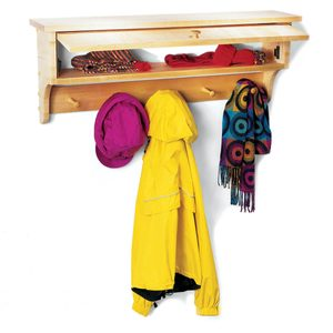 How to Build a Coat and Mitten Rack