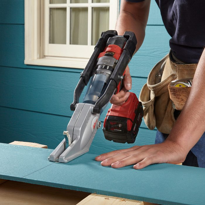 Cutting through fiber cement with a specialty tool | Construction Pro Tips
