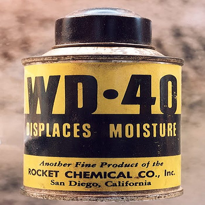 An old can of WD-40   Construction Pro Tips