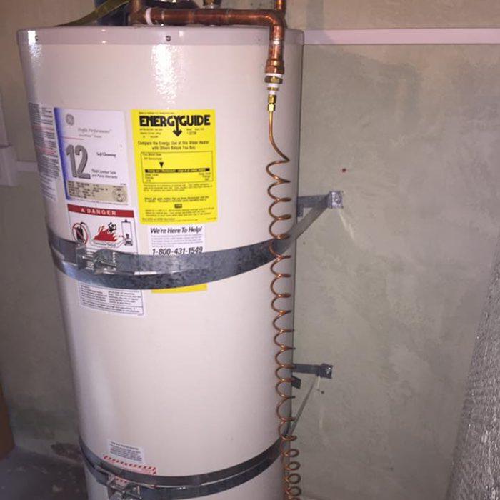 DIY water heater/still conversion