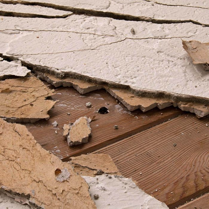 Remove and Toss Damaged Porous Materials