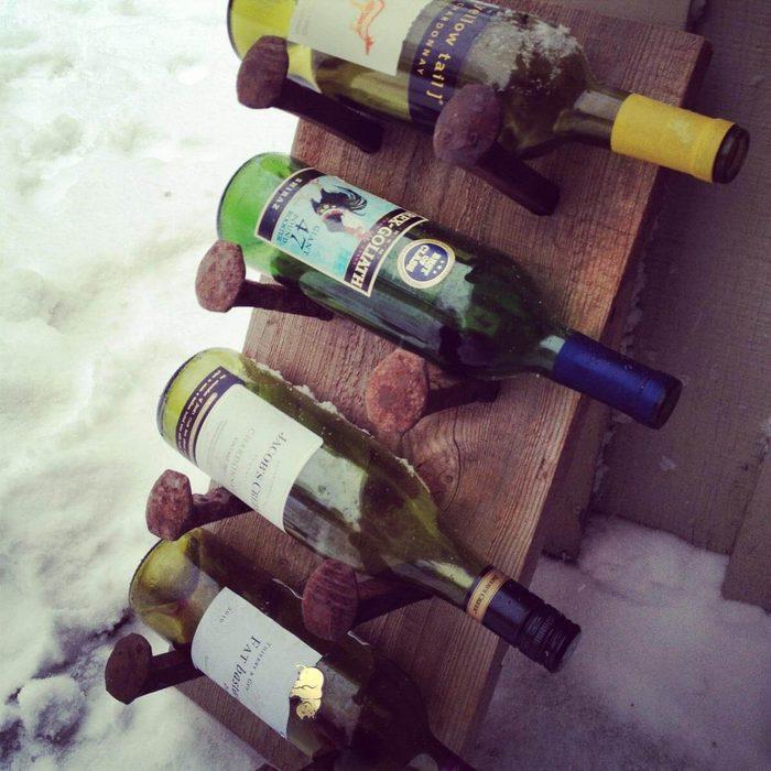 Install a Wine Holder