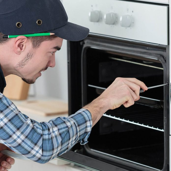 home appliance repair oven
