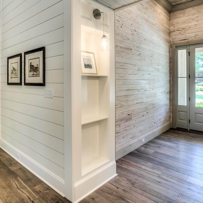 Shiplap and Stone