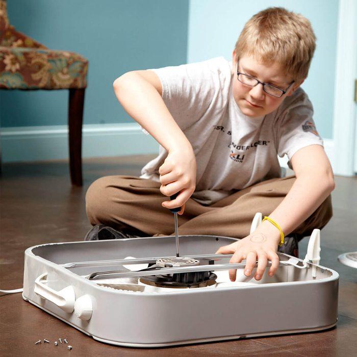 Reconstruct/deconstruct a small appliance