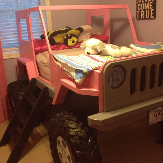 girl jeep bed