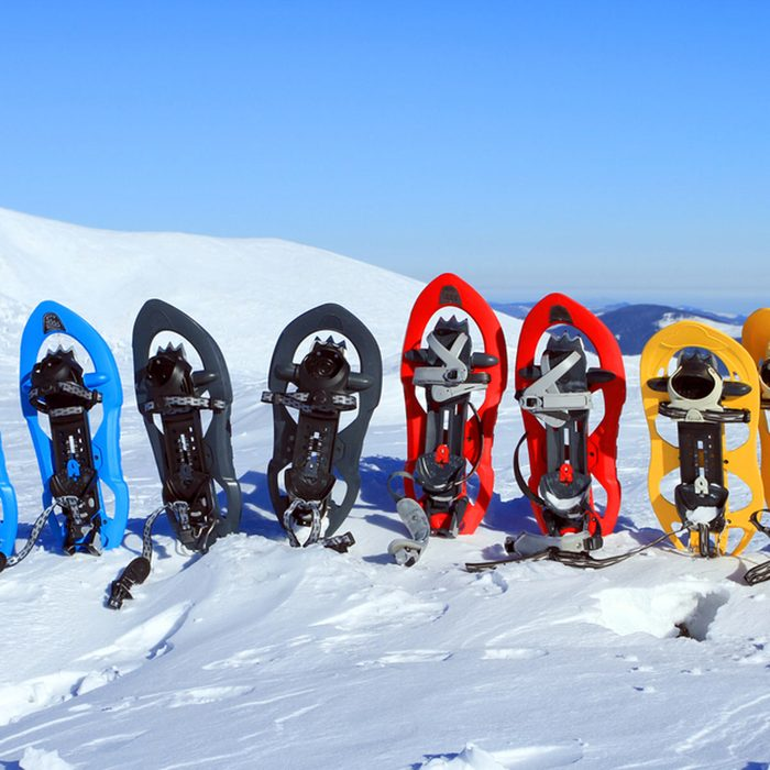 Snow shoes and accessories