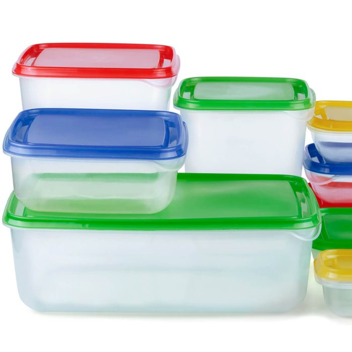Plastic Storage Containers that no Longer have Lids that Fit