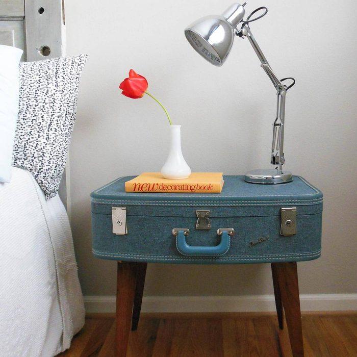 Suitcase Nightstand