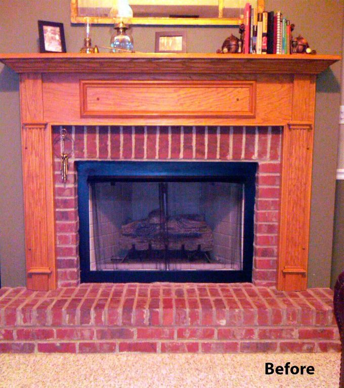 reader fireplace before