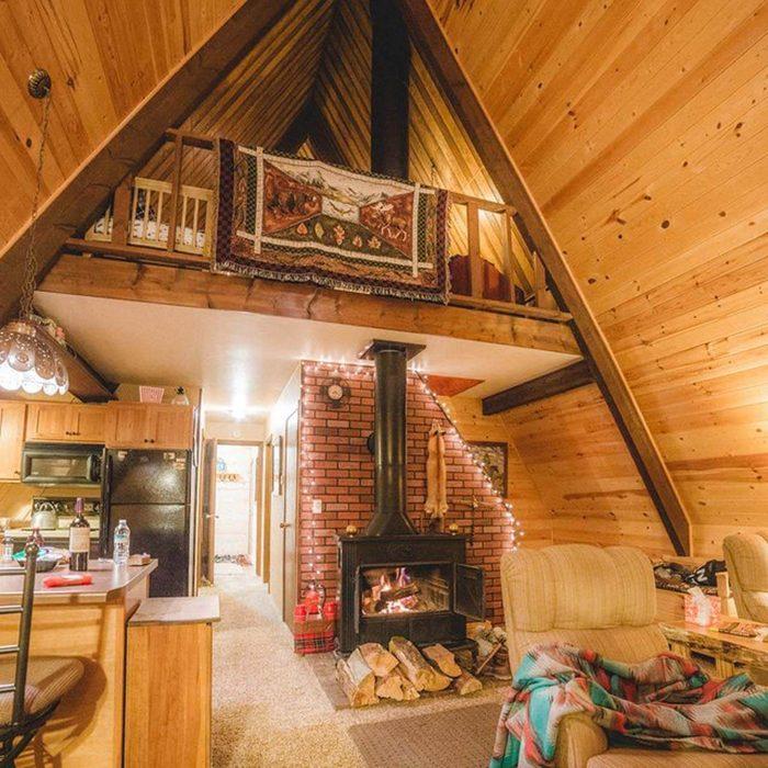 Nestle Around the Fireplace