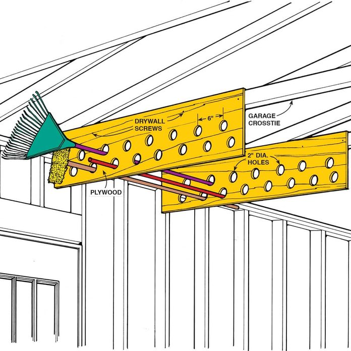 1256A_D overhead storage for garden tools