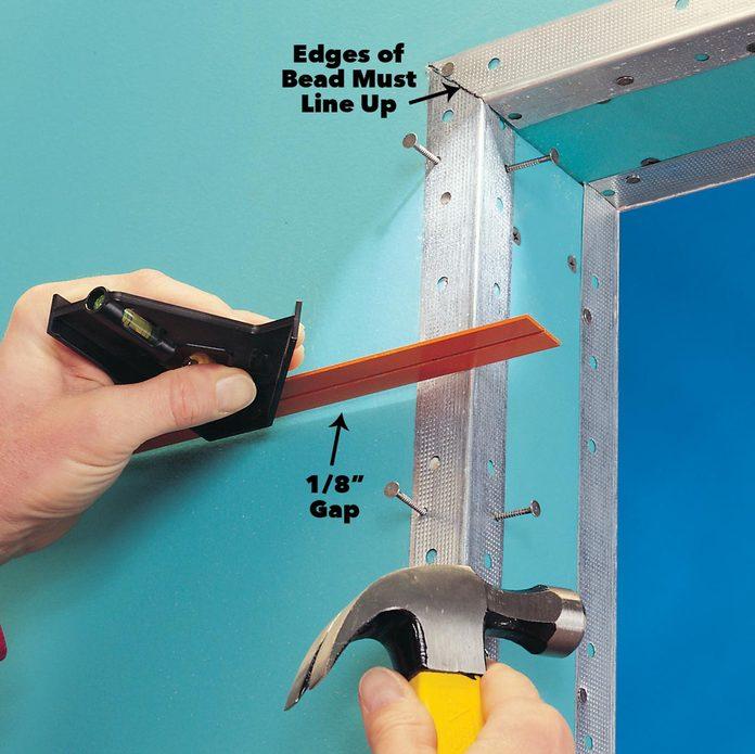 corner bead drywall tips