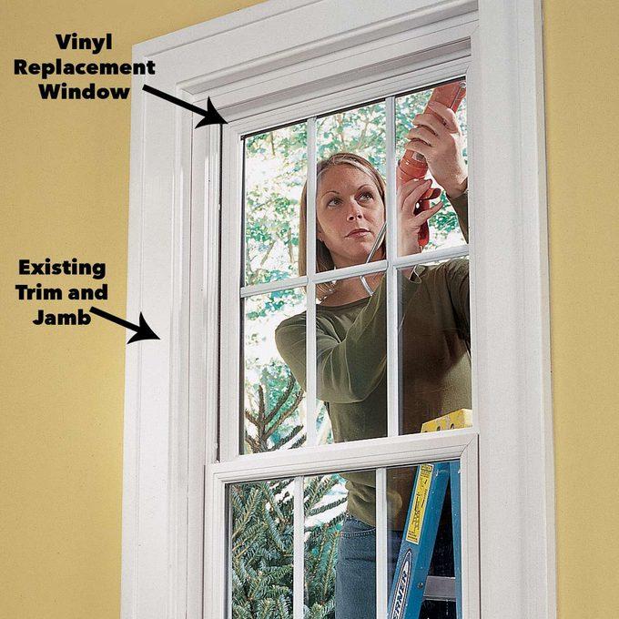 caulk window insulation