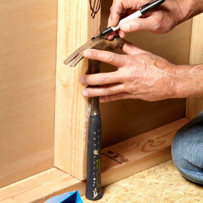 Hammer measuring tool