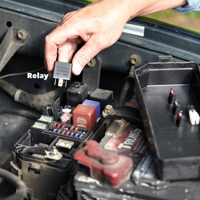 car won't start switch relays