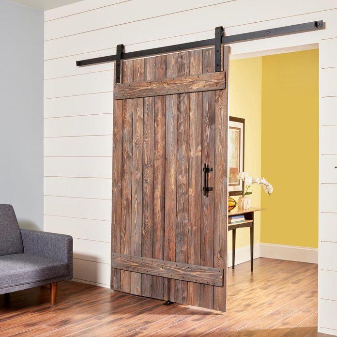 rustic DIY barn door