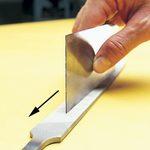 Sharpen and Use a Cabinet Scraper