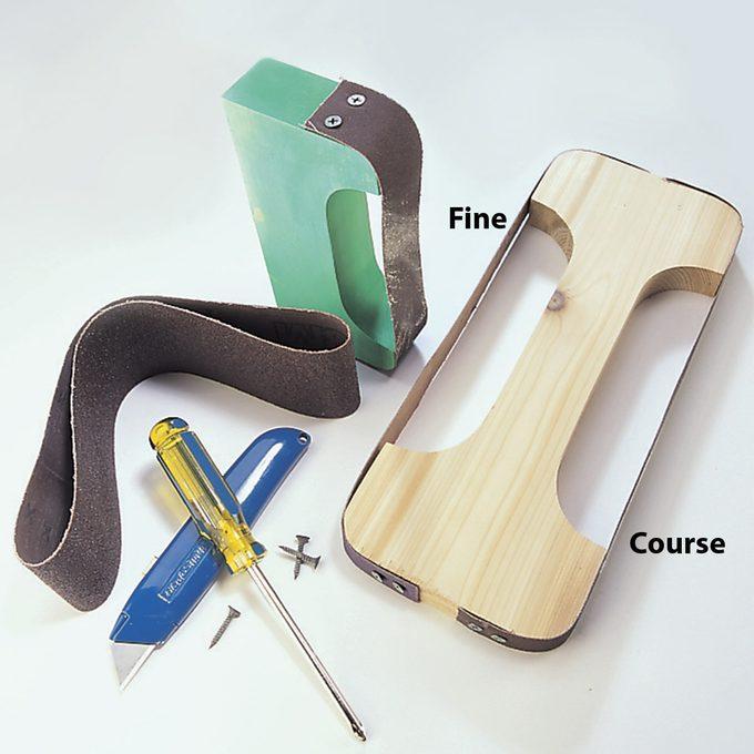 make a custom sanding bow