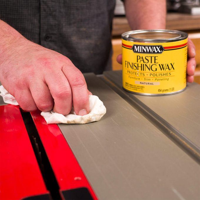 paste wax for table saw top