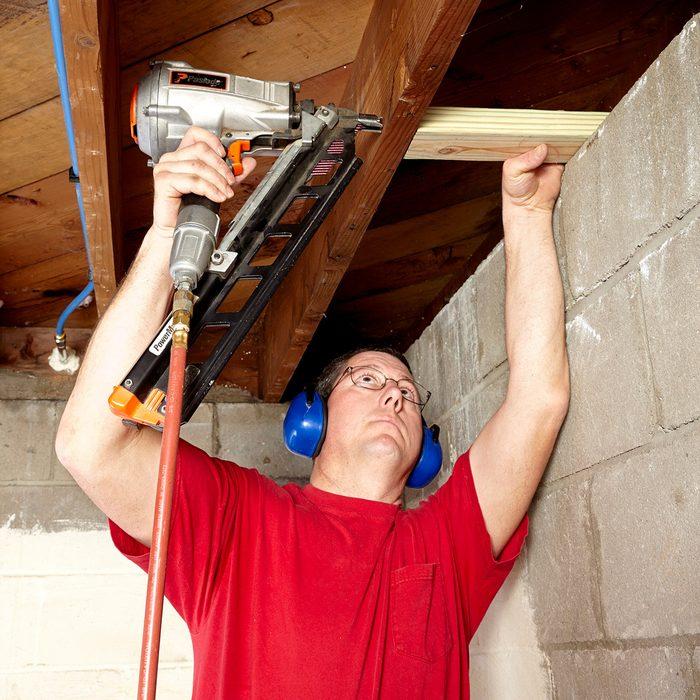 Install blocking between joists | Construction Pro Tips