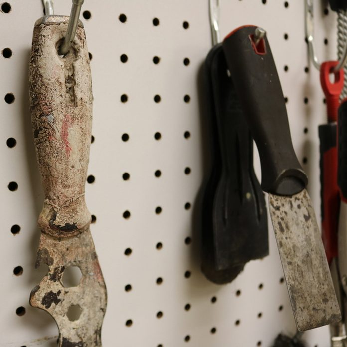 dfh4_shutterstock_750907504 pegboard organizer tools