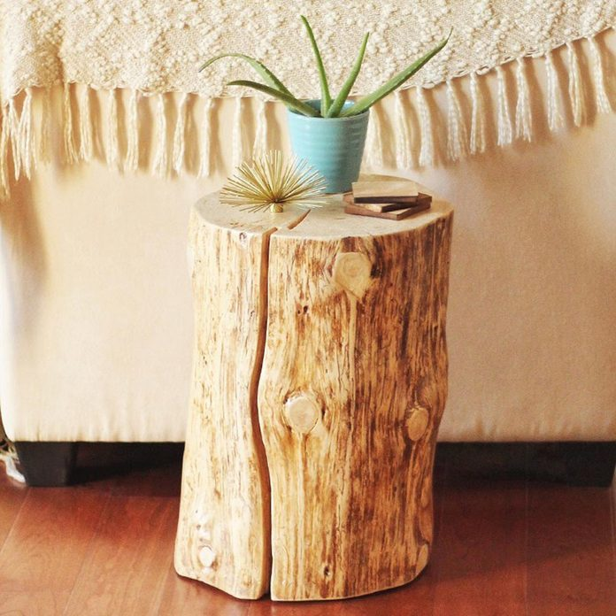 dfh7_ tree trunk end table